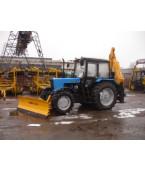 Экскаватор с фронтальным отвалом Борекс – 2206/03 на базе трактора BELARUS