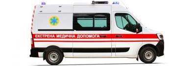 В Україні розпочато виробництво нового автомобіля екстреної медичної допомоги на базі нового Renault Master!